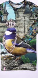 Vogel parelketting jurk