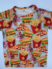 Hamburger frietjes t shirt