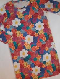 Bloemen jurkje (gehaakte print)