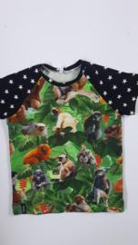 Apen sterren t shirt