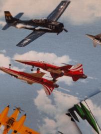 Vliegtuig straaljager longsleeve