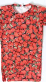 Aardbeien zomer jurk