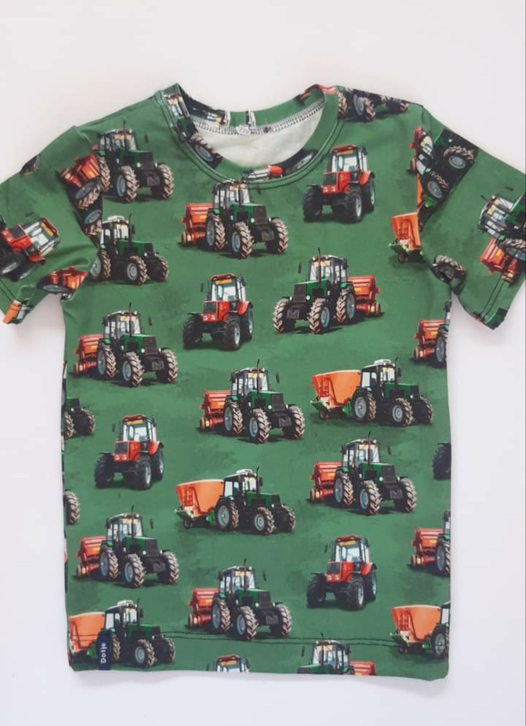 Tractor t shirt groen