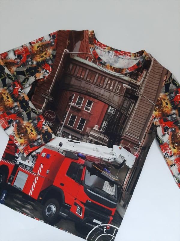 Brandweer ladderwagen longsleeve