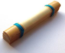 Geprofileerd hout voor fagot (per 10 stuks)