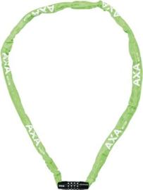Cijfer kettingslot AXA groen
