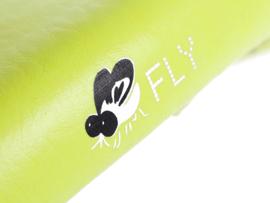 Zadel Fly geel