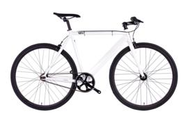6ku  Singlespeed Trackbike White