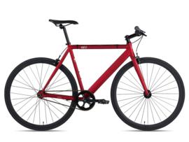 6ku  Singlespeed Trackbike Burgundy