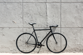 Matte Black 6 singlespeed