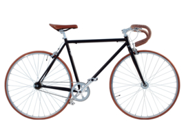 PUNALUU SINGLE SPEED FIETS