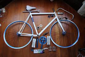 Fixed gear onderdelen