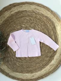 Prachtig fijn gebreid vestje van Mac Ilusion in het roze.