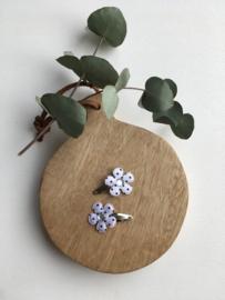 Klik - klak bloem zwart/wit