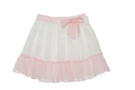 Prachtige uitgewerkte rok van Patachou met offwhite/roze.