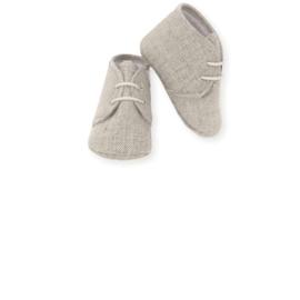 Prachtige schoentjes van Mac Ilusion in het zandkleur.