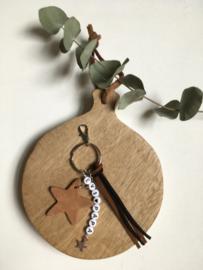 Sleutelhanger ster custommade