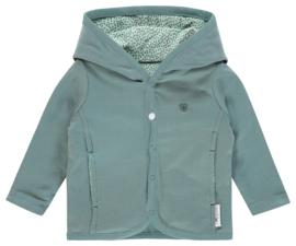 Fijn vest jasje van Noppies in de kleuren Mintgroen-oudgroen.