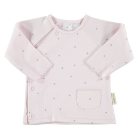 Petit oh overslag vestje roze