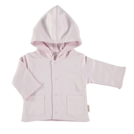 Petih oh babyjasje roze-wit  aan 2 kanten draagbaar