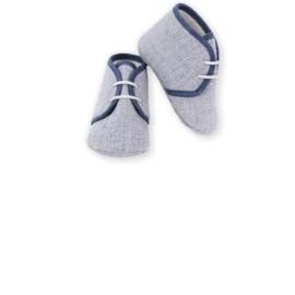 Prachtige schoentjes van Mac Ilusion in het blauw.