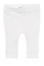 Fijn Noppies broekje met elastan in het wit.