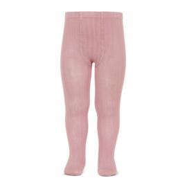 Stoere maillot van condor met een streepmotief pale pink  (526)