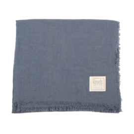 REVELZ Shawl - Jeans blue