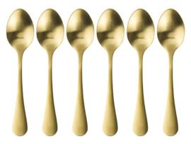 Koffielepeltjes goud
