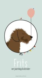 Verjaardagskalender teckel Frits
