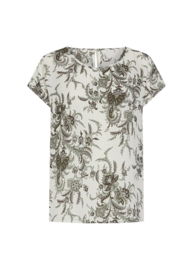 Soyaconcept blouse Solea print army