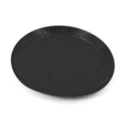 Dienblad zwart 40cm