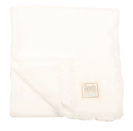 REVELZ Shawl - White