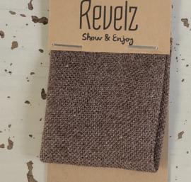 REVELZ sjaal spirit - Red brown