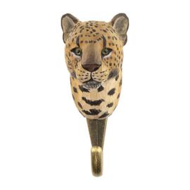 Houten haak luipaard