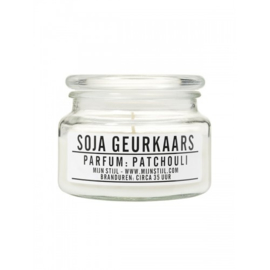 Geurkaars in pot Patchouli
