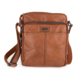 Casual crossbody tas brandy