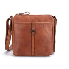 Crossbody tas brandy