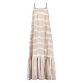 Nukus jurk Doris zand