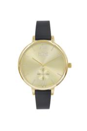 IKKI horloge Estelle black gold