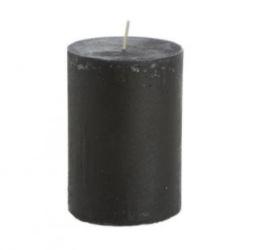 Stompkaars rustiek zwart 10cm