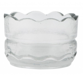 Waxinehoudertje glas