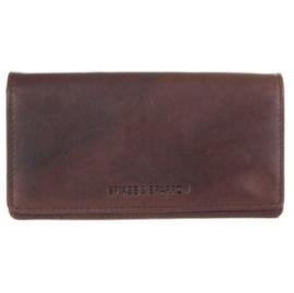 Dames portefeuille in bruin