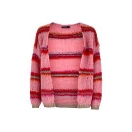 Black Colour vest Tailor pink