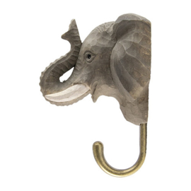 Houten haak olifant
