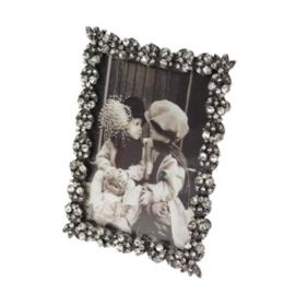 Fotolijstje tin met strass