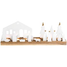 Räder lichtobject - kerststal groot