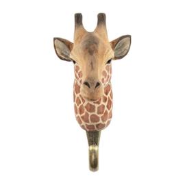 Houten haak giraffe