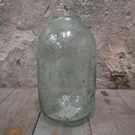 Vaas recycled glas 19cm
