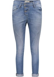 Please broek blue denim
